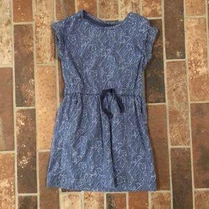 Gap Disney blue dress 4-5 Beauty and the Beast
